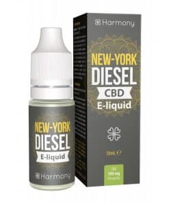 New York Deasel CBD E-Liquid (100mg CBD) 10ml