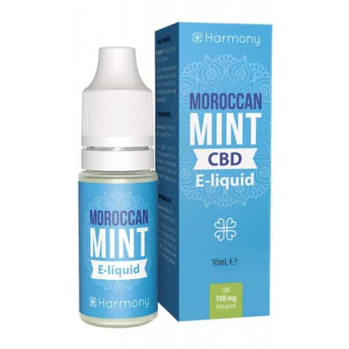 Moroccan Mint CBD E-Liquid (100mg CBD) 10ml